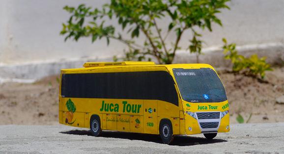 Em Miniaturas produz miniatura do Volare WL da Juca Tour