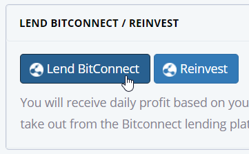 Mengikuti Program Lending BitConnect (BCC)