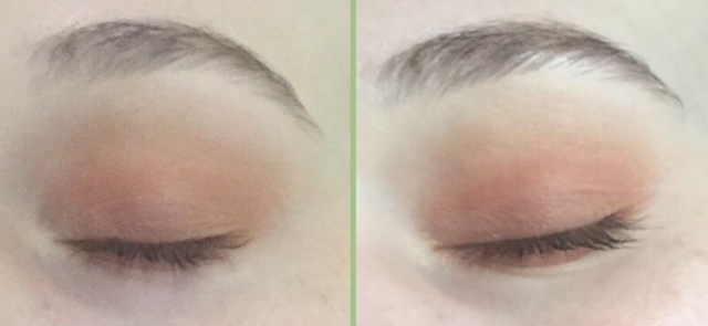 NYX Perfect Filter Shadow Palettes: Before And After