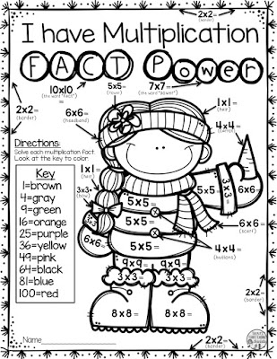 Help your 1st, 2nd, and 3rd grade students master their addition facts with these easy, print-and-go winter math fact resources! Teaching upper elementary, no worries! Your 3rd, 4th, and 5th grade students will love coloring their multiplication math facts! Each 12 page resource is a great way for your elementary classroom or homeschool students to get much needed math fact fluency practice in. And click through now to see the adding and multiplying FREE download that is included! You want it!