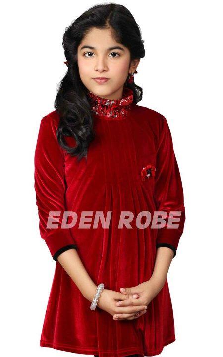 0e108f8d1 Ghouriz Fashion Ternds  EDEN ROBE Kids Party Wear Winter Wear ...