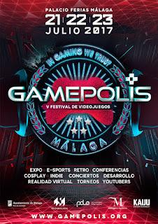 Gamepolis 2017 - V Festival de videojuegos Málaga