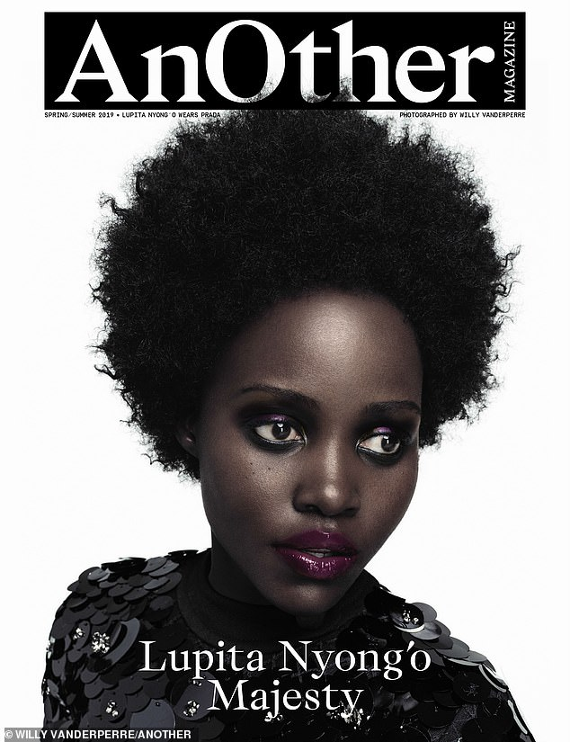 Lupita Nyong'o is luminous as she graces the cover of AnOther magazine
