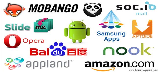 10 Toko Aplikasi Terbaik Untuk Developer Selain Google Play Store