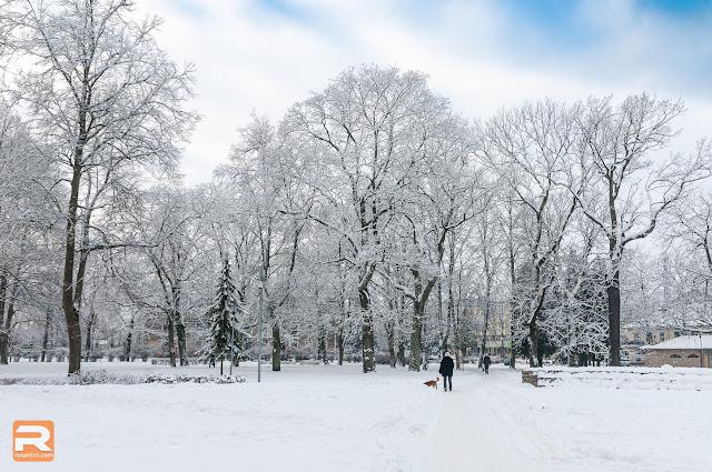 Ziema Jelgavā