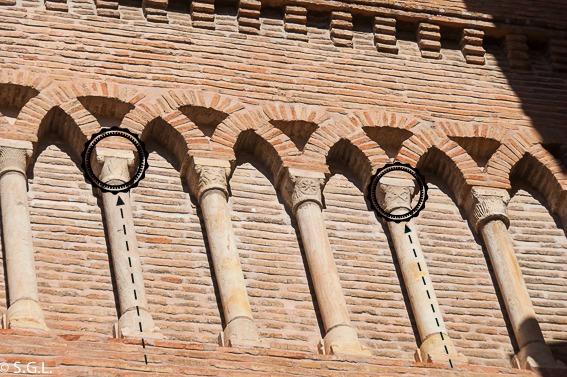 Detalle iglesia San Pedro. Visitando Teruel