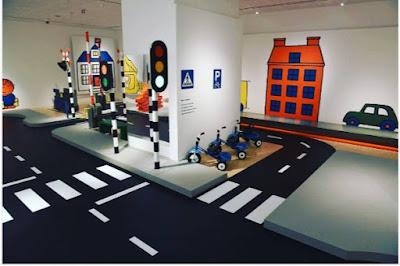 3D epoxy flooring graphics for nursery hallway