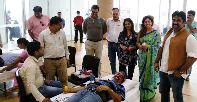Emaar MGF celebrates Joy of Giving: Organizes Blood Donation Camp with Indian Red Cross