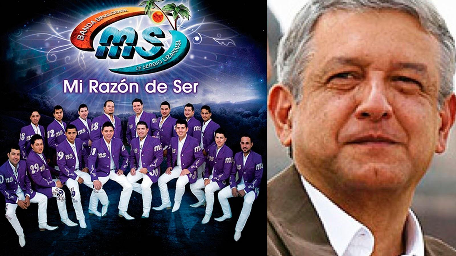 Banda MS lanza canción en apoyo a AMLO y Morena (VIDEO)