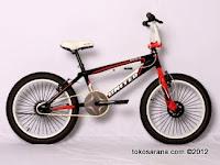 A 20 Inch United Epica Free Style BMX Bike
