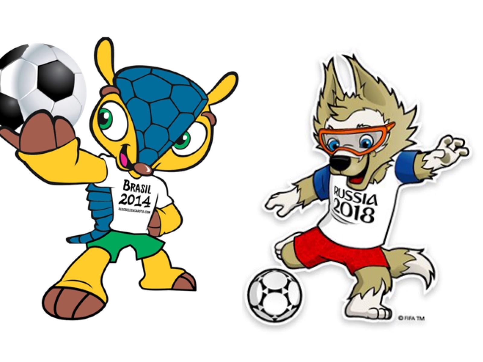 Morri de Sunga Branca  Brasil criou o seu próprio mascote para a Copa do  Mundo 2018 f539bc43b5cf0