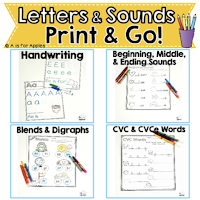 Click here to find ideas for improving your student's handwriting or penmanship.  We discuss letter formation as well as spaces between words.  Perfect for kindergarten, first and second graders. {k, 1st, 2nd, homeschool}
