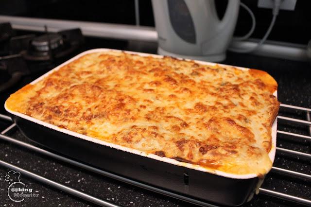 Naleśnikowa lasagne bolognese