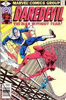 Daredevil v1 #161 bullseye marvel comic book cover art by Frank Miller