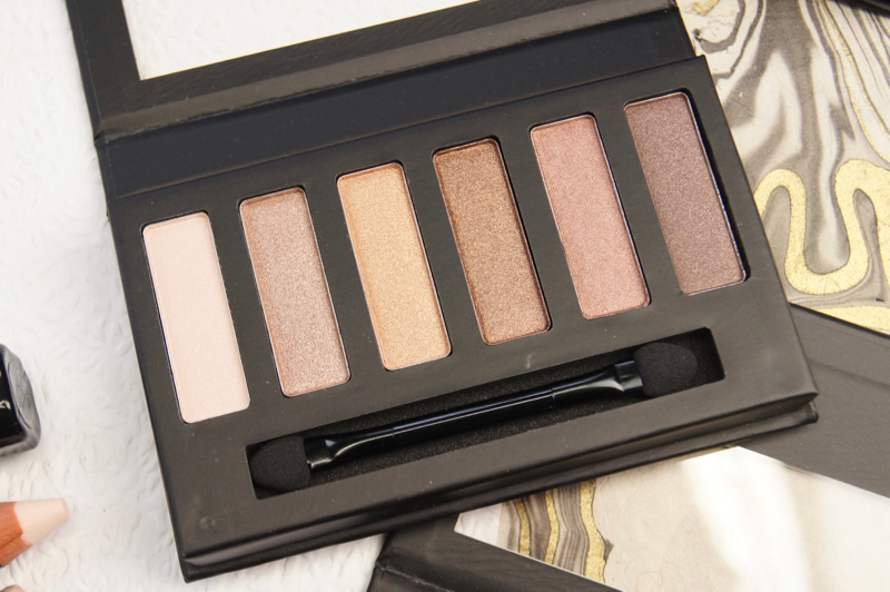 collection eyes uncovered nude bronze eyeshadow palette review swatches