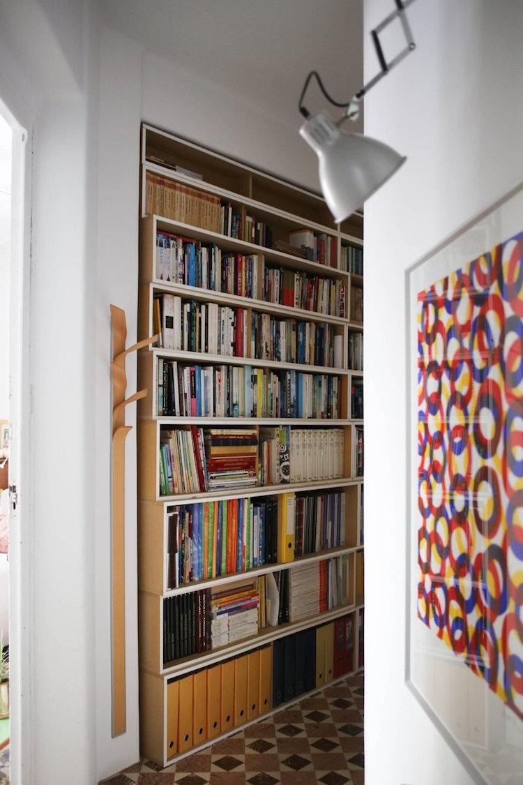 Librería pasillo