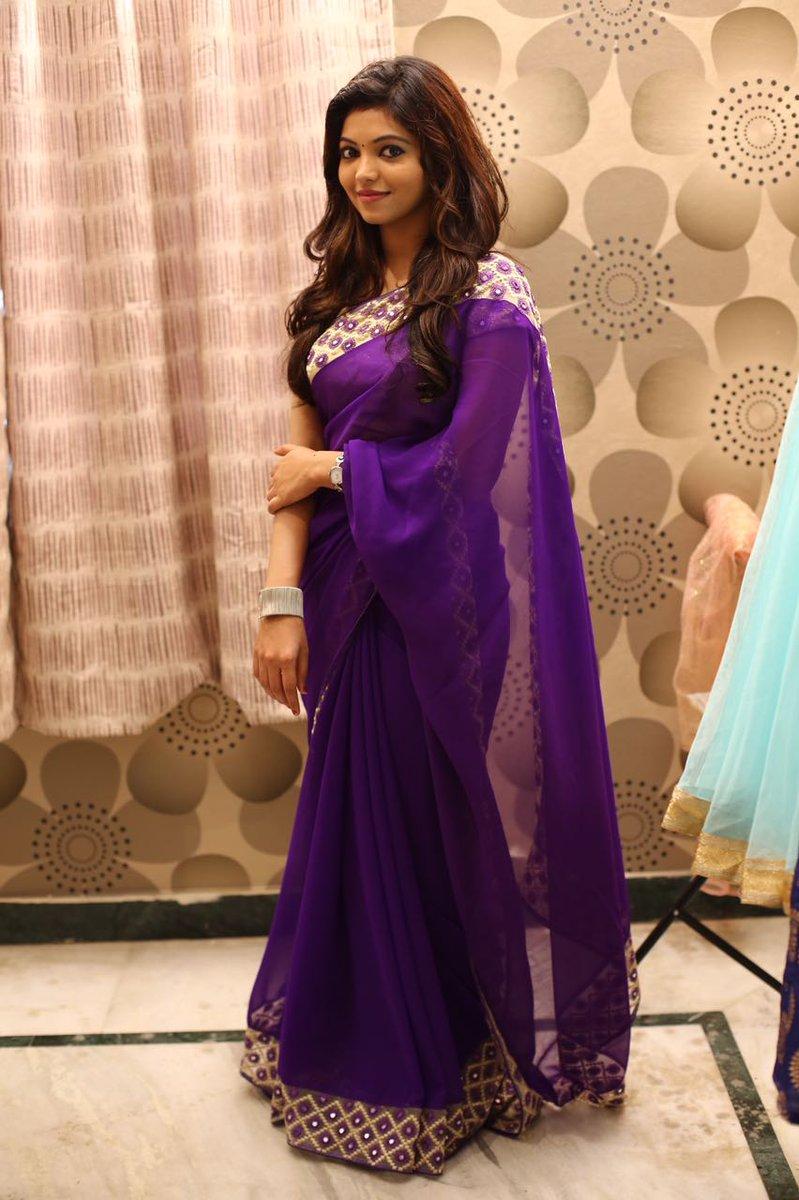 Athulya Ravi New Saree Photos