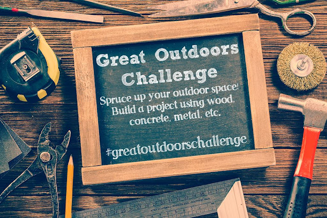 Great outdoor challenge and X planters, My Love 2 Create
