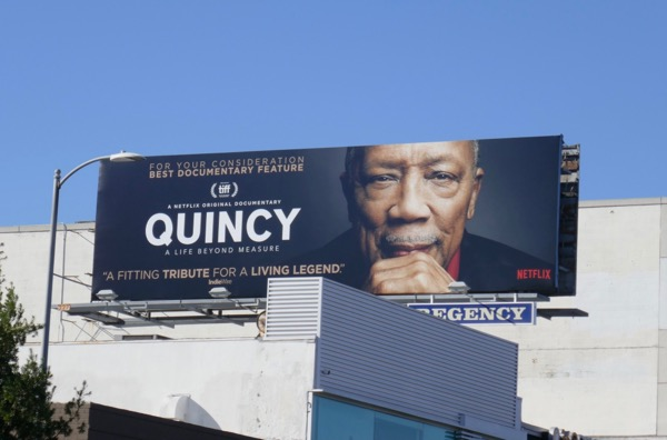 Quincy documentary FYC billboard