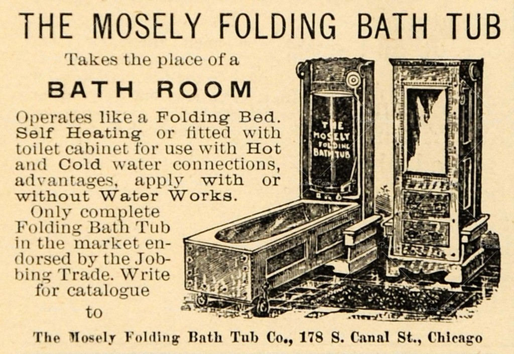 What A Beautiful Feeling Mosely Folding Bath Tub