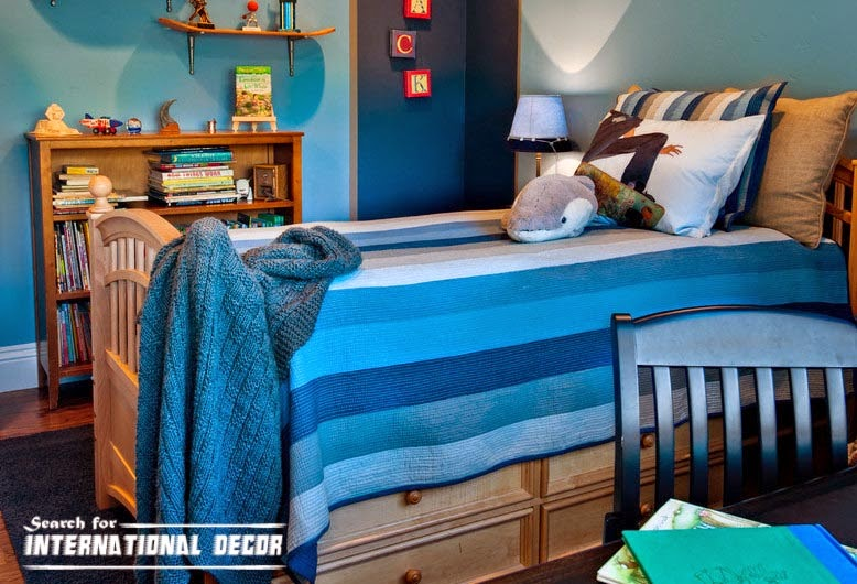 small child's room design,how to save space,drawers under bed