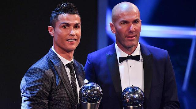 Zinedine Zidane dinobatkan menjadi Pelatih Terbaik Pria FIFA  Berita Terhangat Daftar Lengkap Pemenang Penghargaan FIFA 2017
