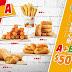 【漢堡王】A+B=$50元