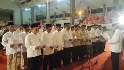 Walikota Mojokerto dan Forkompimda Deklarasikan Sholat Subuh Berjamaah