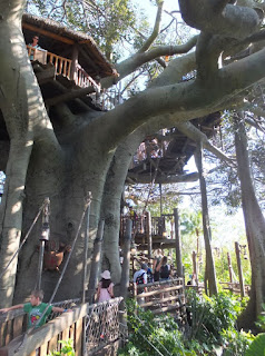 Magic Kingdom Swiss Family Treehouse