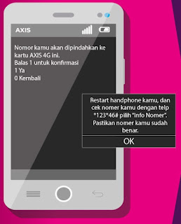 Cara Upgrade Kartu Axis 4G