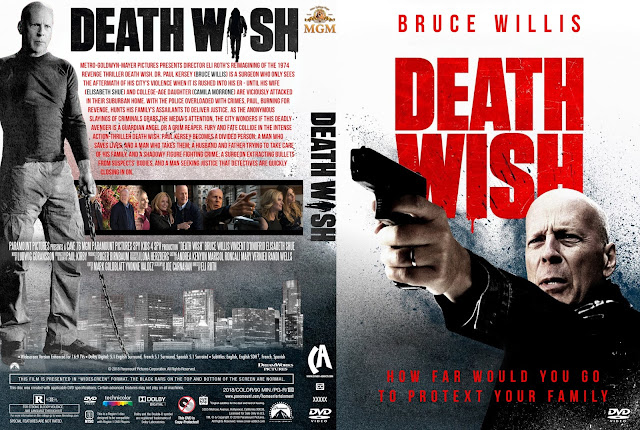 Death Wish (2018) DVD Cover