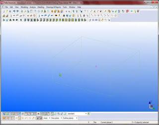 Penerapan Building Information Modeling (BIM) Pada Pembangunan Struktur  Menggunakan Software TEKLA STRUCTURE-19