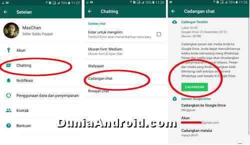 Cara Pindah Whatsapp Ke Hp Lain Tanpa Kehilangan Pesan Dunia Android