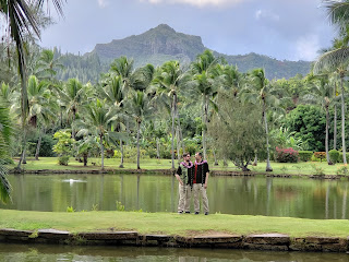 Larry LaSota Kauai Minister at Smiths Tropical Garden