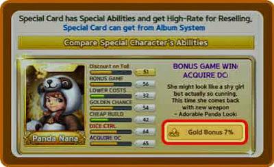 Panda Nana S Class Card Line Let's Get Rich