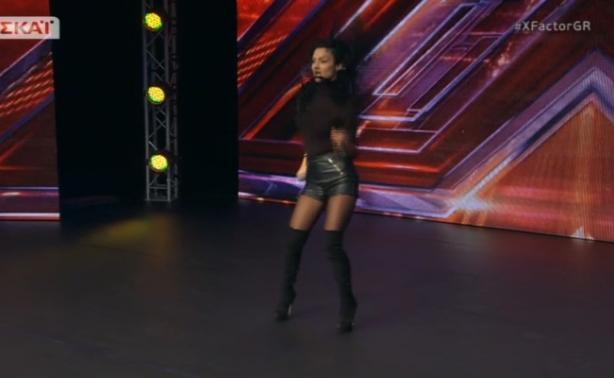 X Factor - Auditions: Η Kαυτή χορεύτρια δεν άφησε τους κριτές να πάρουν τα μάτια τους από πάνω της!