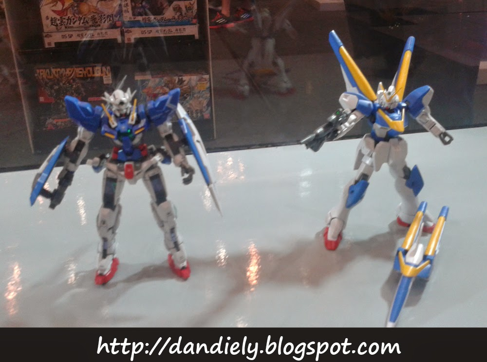 Exia and V Gundam - Gunpla - Gundam Model Kit Contest 2014 Philippines