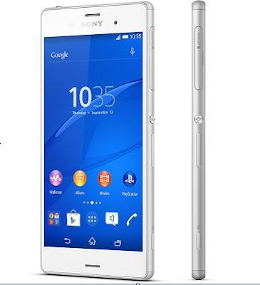 Harga Terbaru Sony Xperia Z3 Terkini