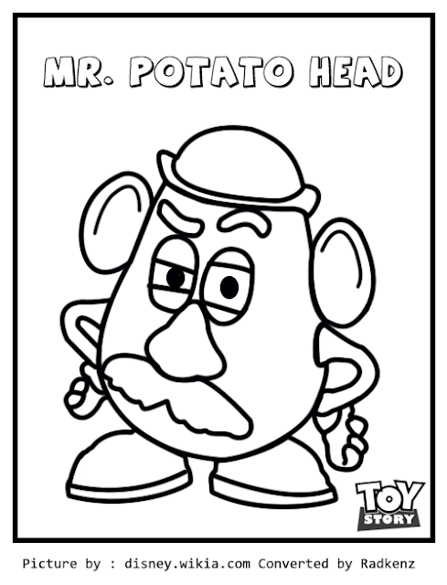 radkenz artworks gallery toy story mr potato head
