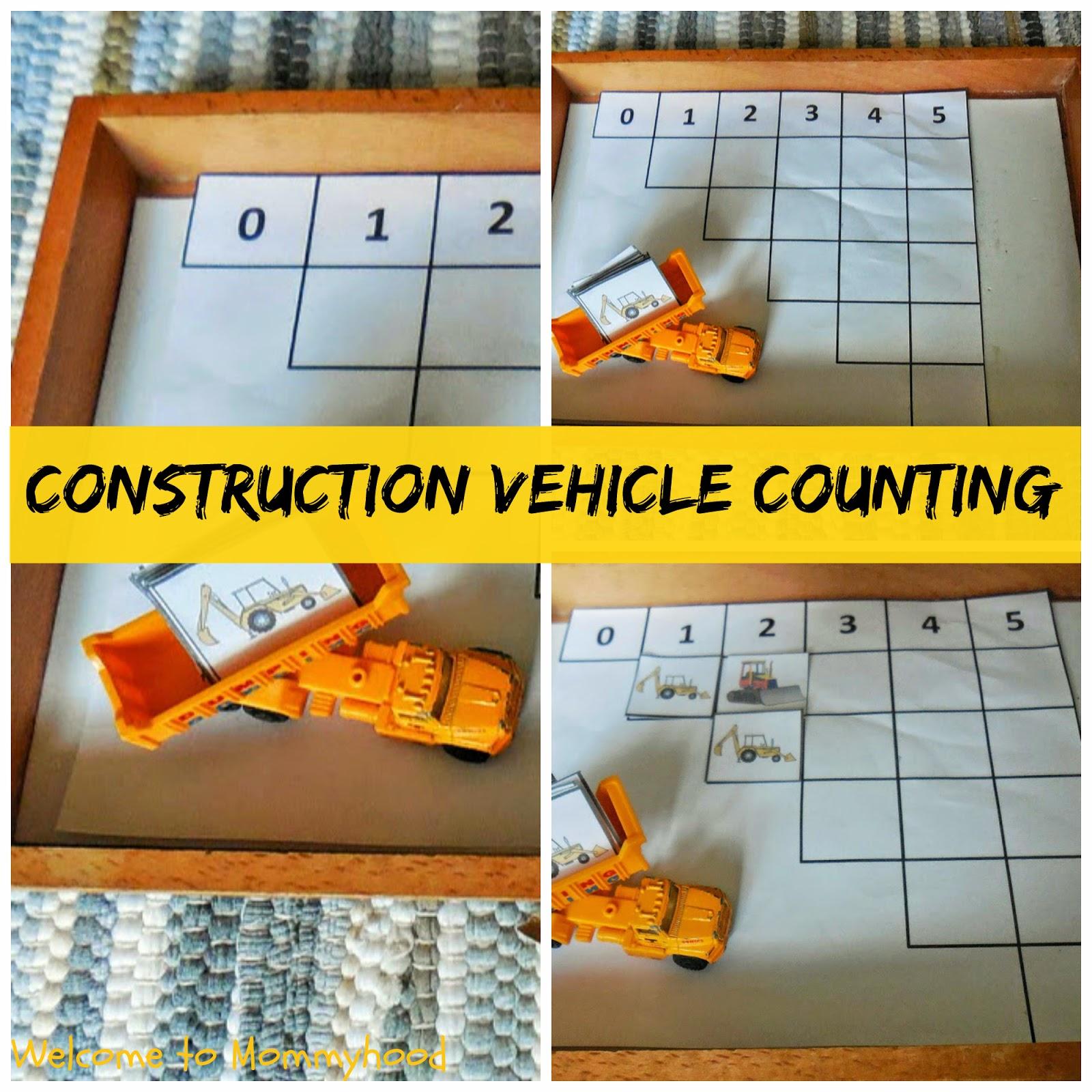 Vehicle toddler activities by Welcome to Mommyhood [Montessori inspired] #toddleractivities, #Montessori