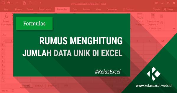 Rumus Excel Menghitung Jumlah Data Yang Sama