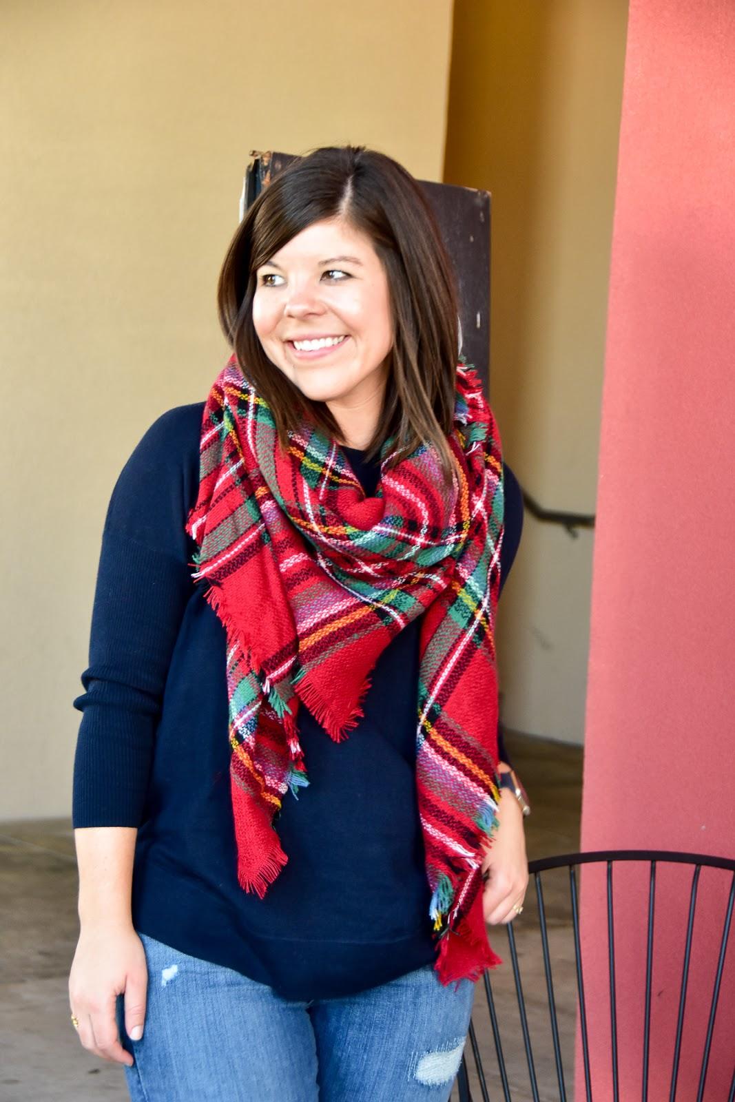 Time to Break Out the Blanket Scarves!