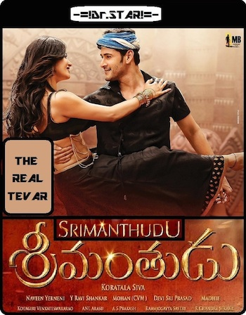 Download Srimanthudu 2015 Dual Audio Hindi 720p HDRip 1.2GB