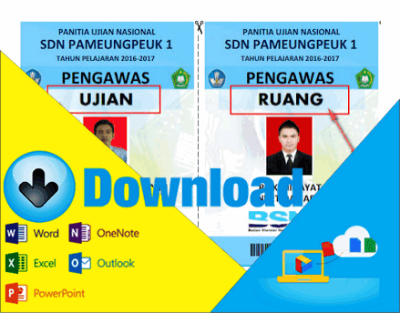 Download Aplikasi Untuk Membuat Kartu Pengawas Ujian Tahun Pelajaran 2016/2017 Lengkap