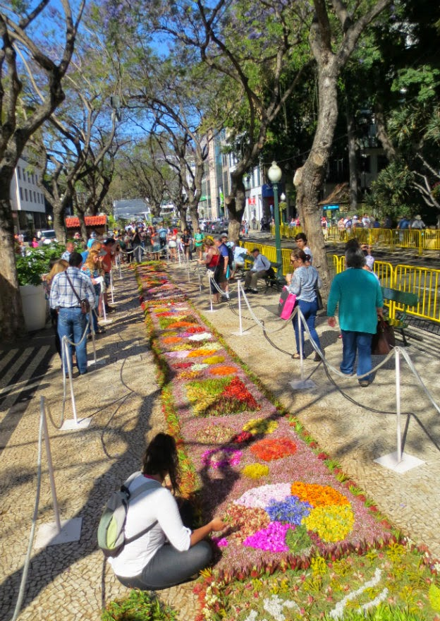 today is the main day of the Madeira Flower Festival 2014