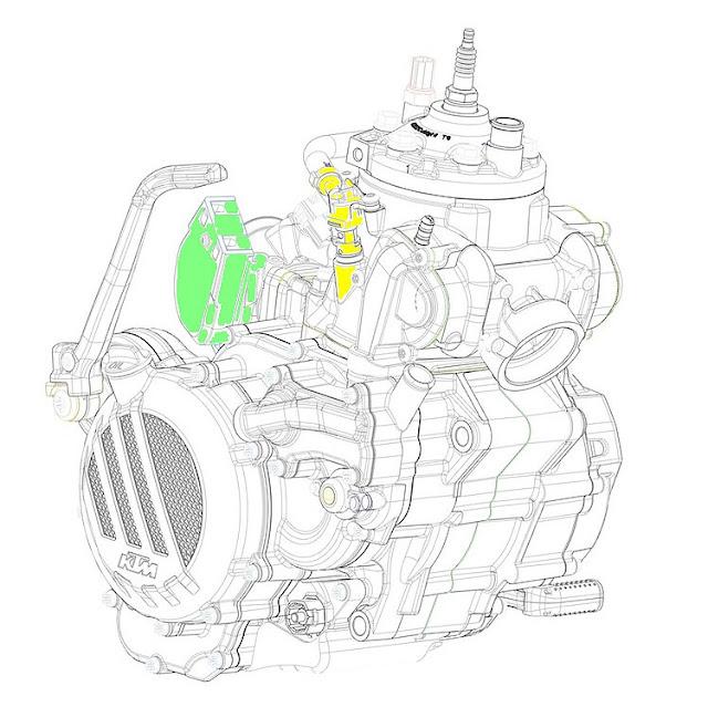 TPI 300 de KTM. Inyección 2T