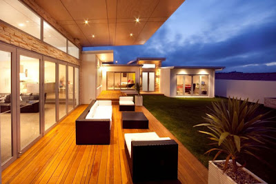 modern architectural buildings - lightin design