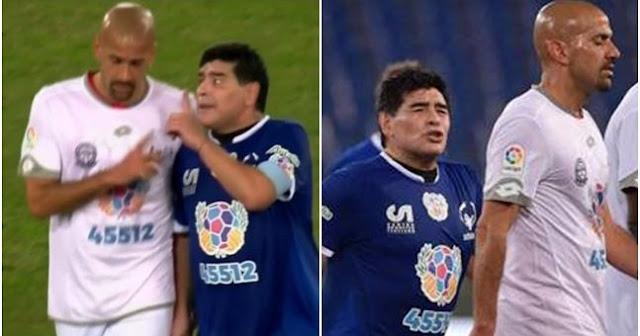 Maradona i Veron svadja