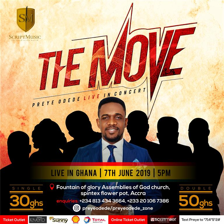 EVENT: Ghana Will Feel #THEMOVE! Preye Odede Is Coming With