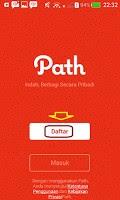 Cara Mendaftar Path Di Android